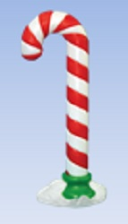 Lighted Candy Cane (38 inch)