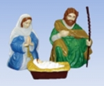 3 Piece Nativity (30 Inch)
