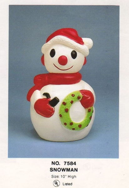 Snowman / Christmas / Union Plastics Products